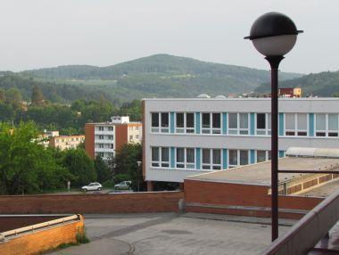 pohled na Přední vrch