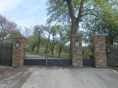 Vstupní brána do obory