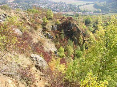 vrch Damil - lom