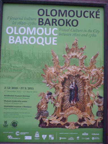 Olomoucké baroko - foto plakát