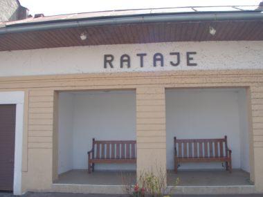 Rataje, autobusová zastávka
