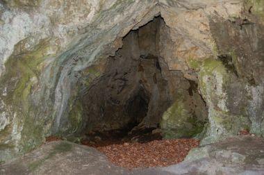 Propadlá jeskyně - portál