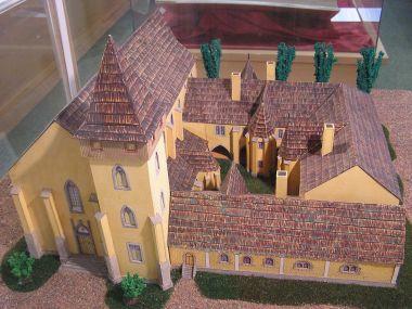 maketa podlažického kláštera