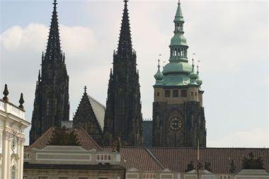 Chrám sv. Víta, Pražský hrad