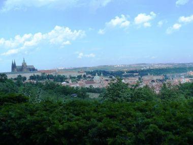 Pražská panoramata z Nebozízku