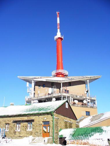 Lysá hora - televizní vysílač