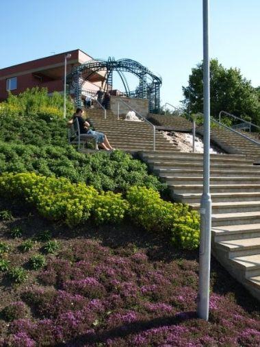 terasovité schodiště