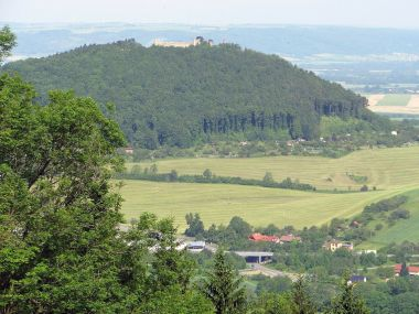 Výhled od chaty Svinec