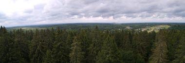 výhled z rozhledny na Velkém vaječném kopci