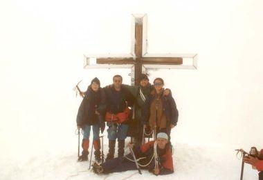 U vrcholového kříže