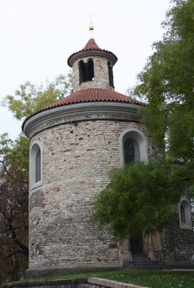 Praha - Kaple (rotunda) sv. Martina