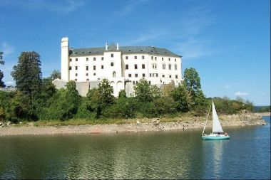 zámek Orlík: Orlík, srpen 2003