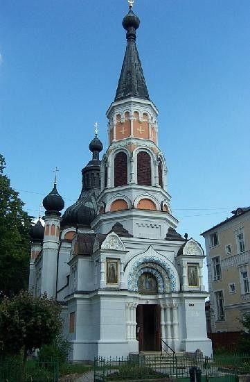 Pravoslavný kostel sv. Olgy ( 1887-89, G. Wiedermann )