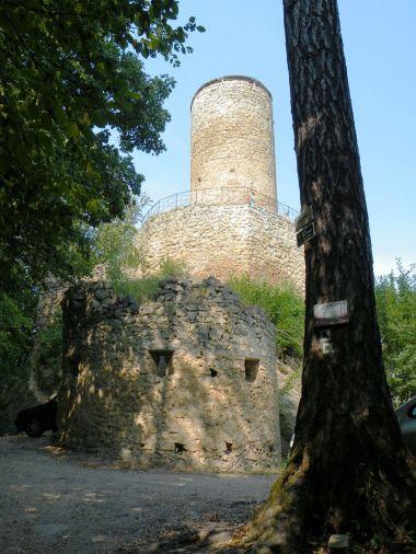 U hradu Cimburk
