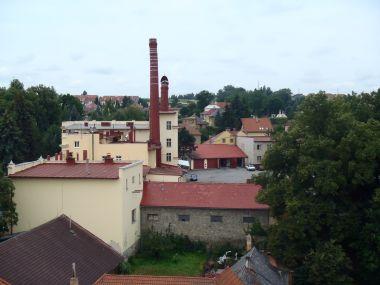 Pelhřimov - pivovar Poutník z věže