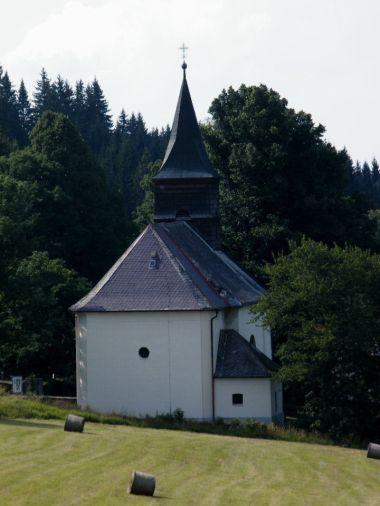 Hojsova Stráž - kostel Neposkvrněného početí Panny Marie