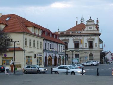 Poděbrady - Jiřího náměstí s informačním centrem