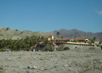 Death Valley vesnice Furnace Creek