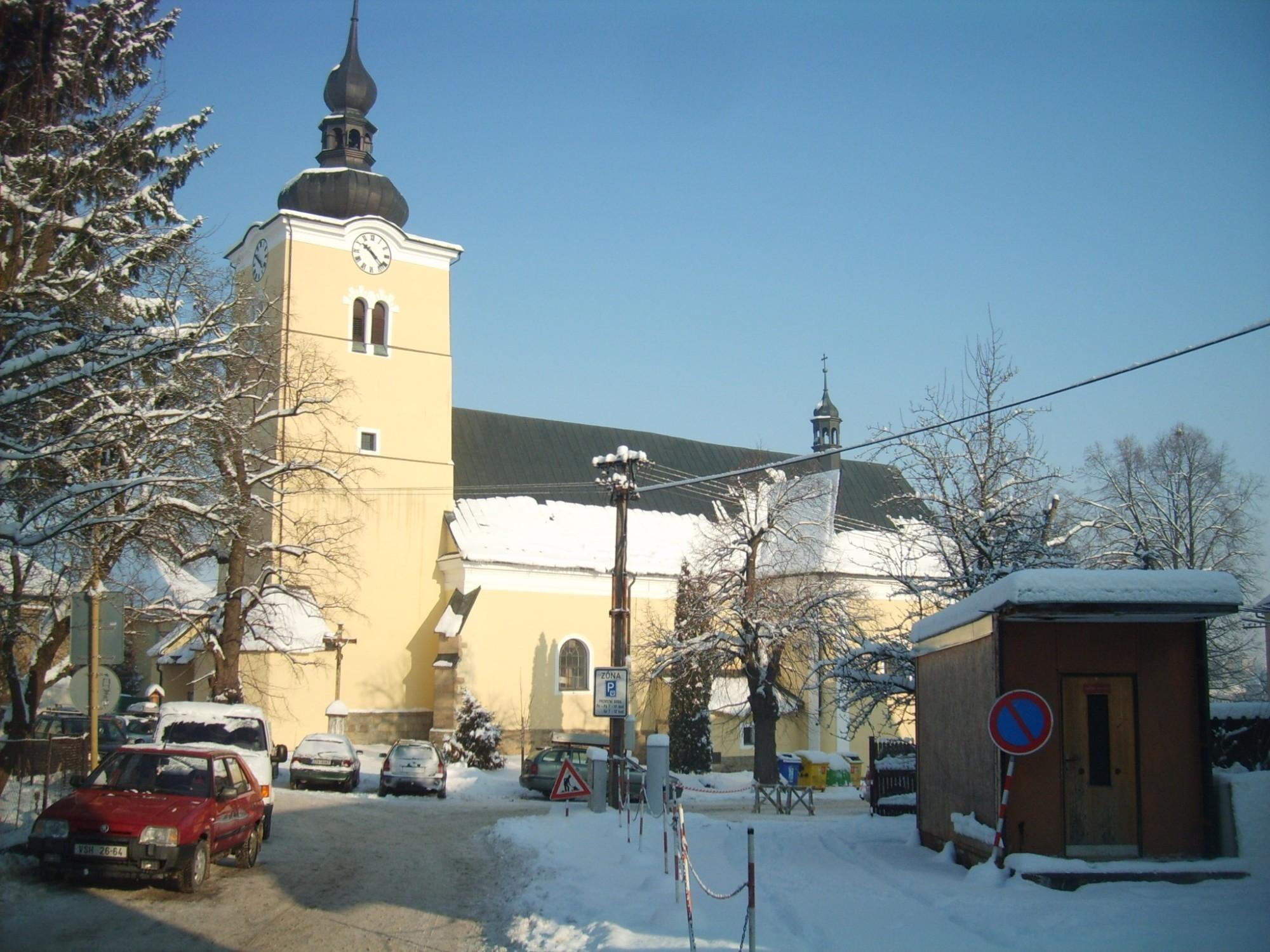 Farný kostol Povýšení svatého Kříže - Valašské Klobouky a5e72d6d1a