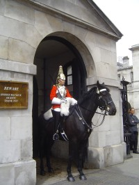 Londýn - Horse Guards