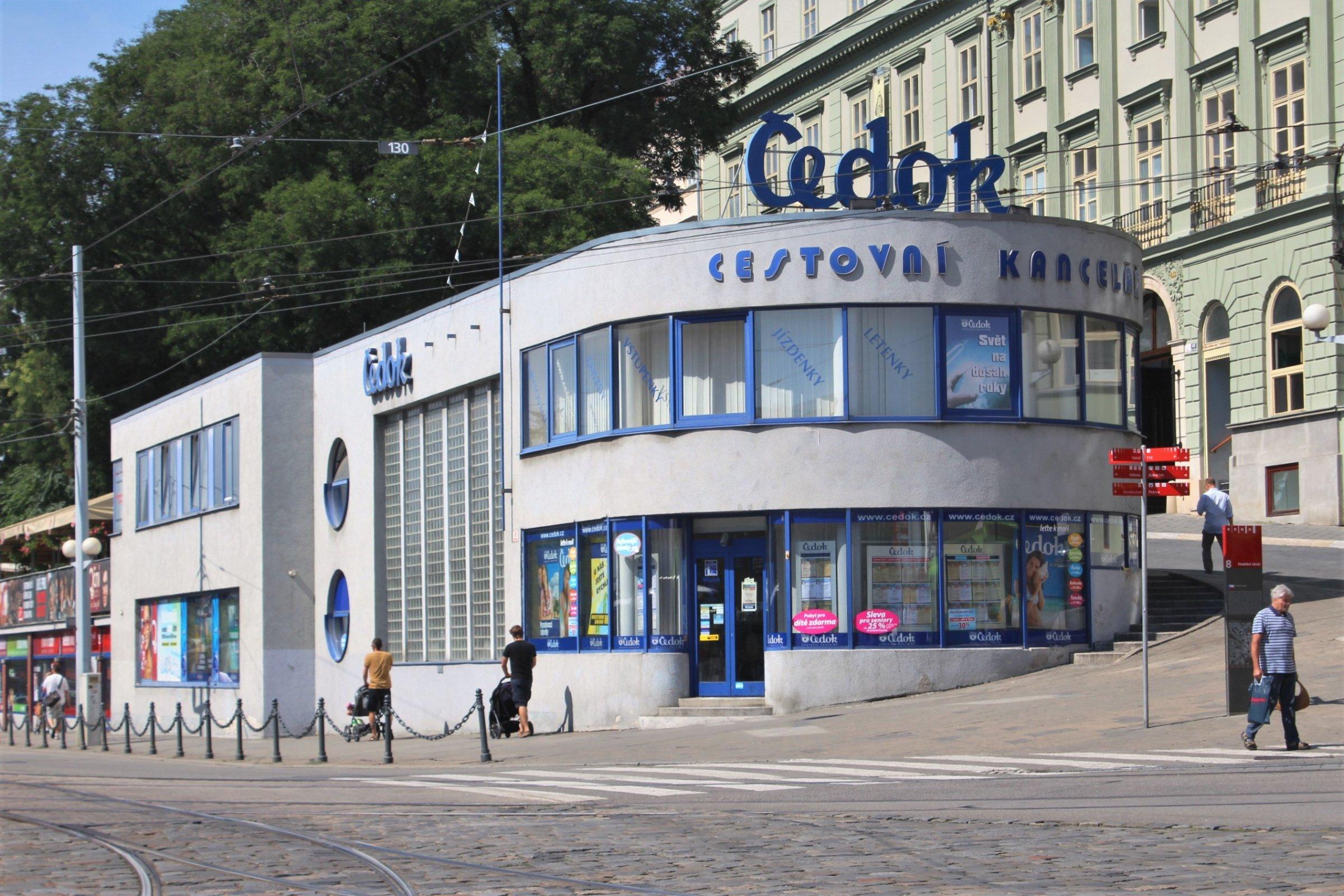 Brno - budova Čedoku - Dům, budova | Turistika.cz