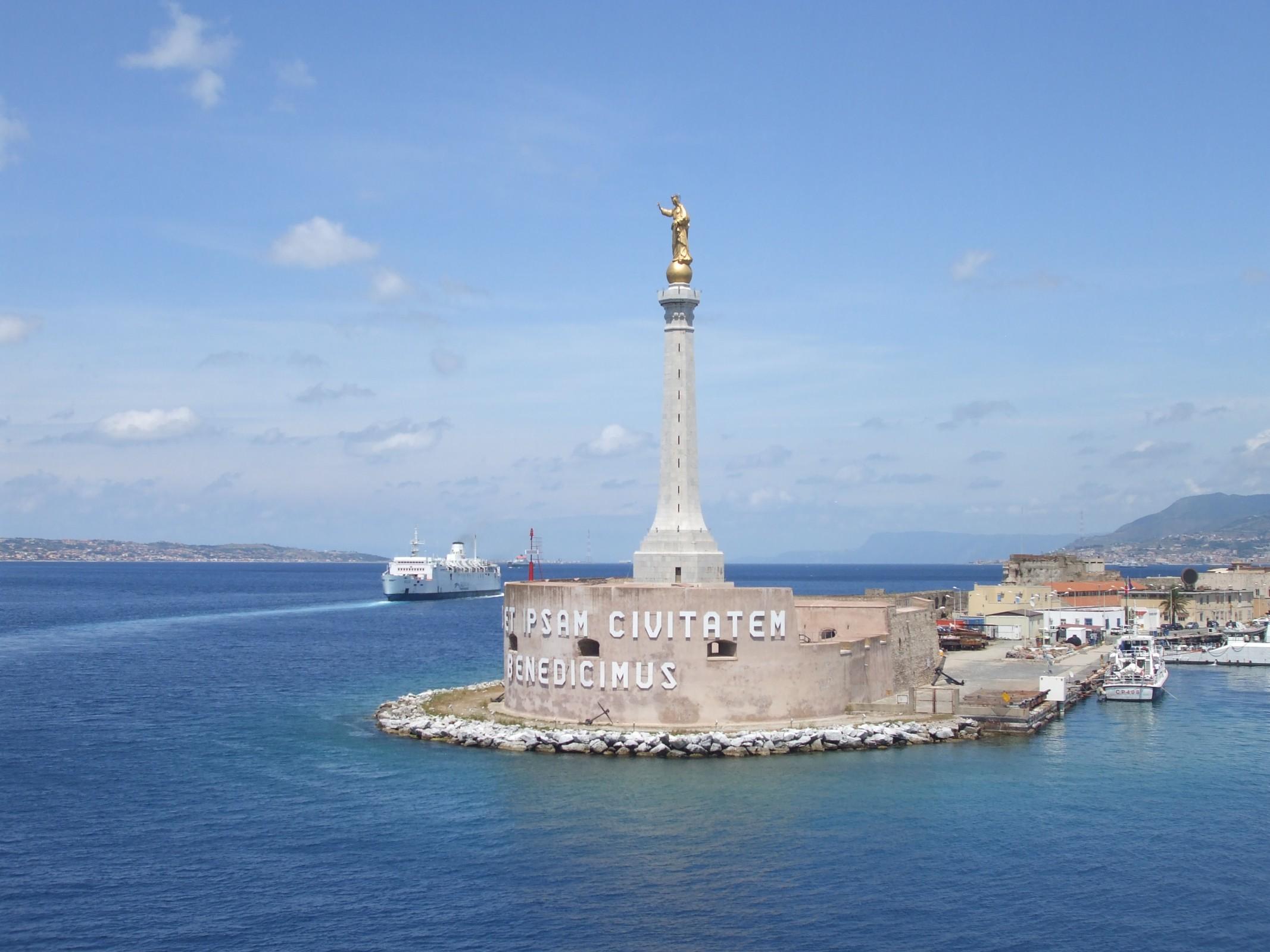 Sicilie Ostrov Turistika Cz
