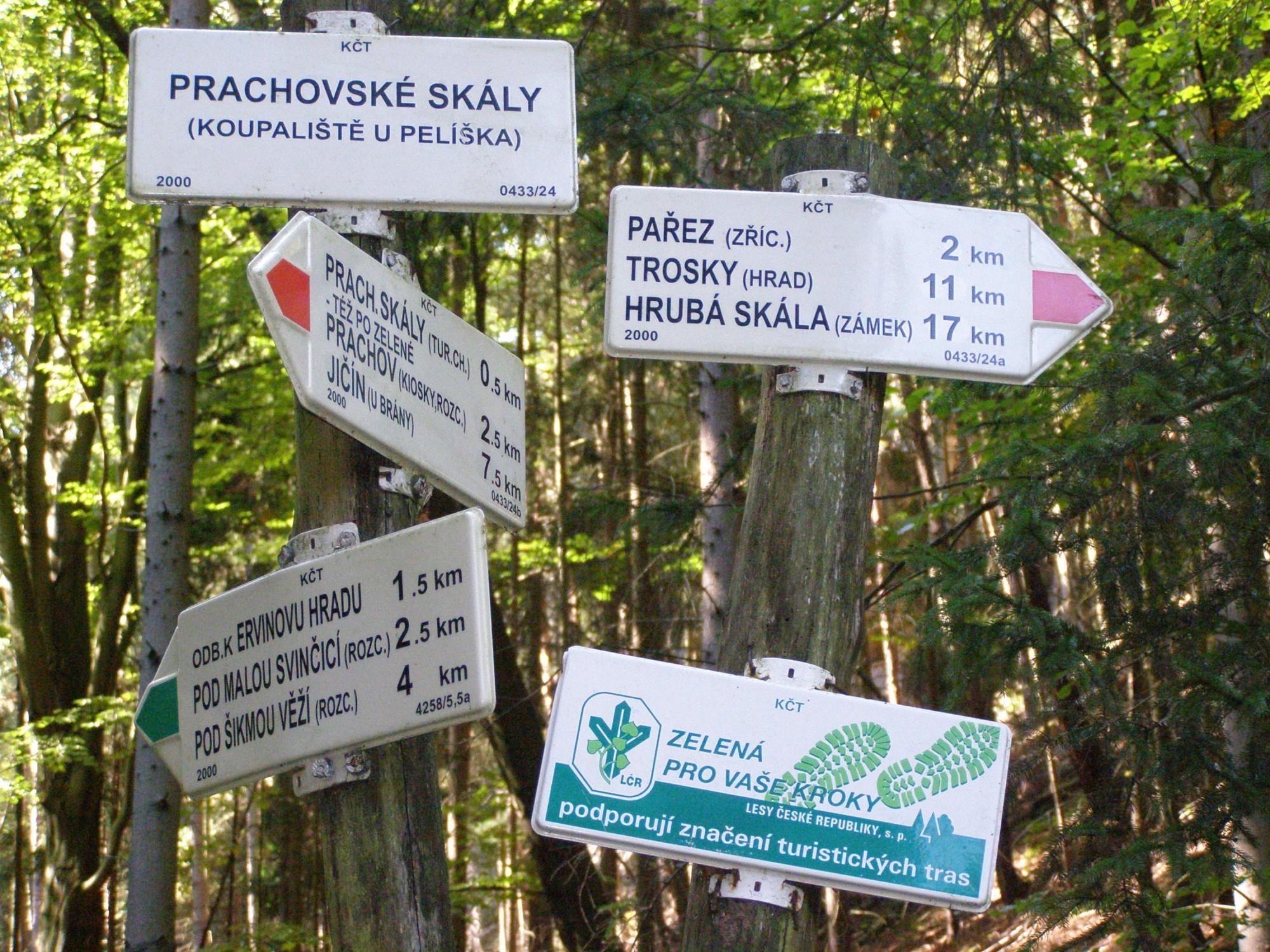 Prachovske Skaly Vyhlidky Trasa Turistika Cz