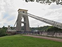 Bristol – Clintonův visutý most  (Clifton Suspension Bridge)