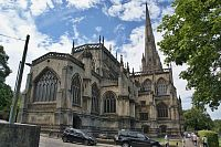 Bristol – kostel Panny Marie  (St. Mary Redcliffe Church)