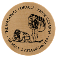 Turistická známka č. 149 - THE NATIONAL CORACLE CENTRE CENARTH