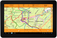 SmartMaps v tabletu