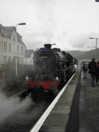 Jakobite - west highlands railway - Fort William - Mallaig
