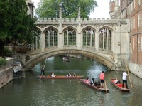 Cambridge – The Bridge of Sighs (Most vzdechů)