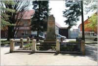 Ronov nad Doubravou - Pomník obětem 1. světové války