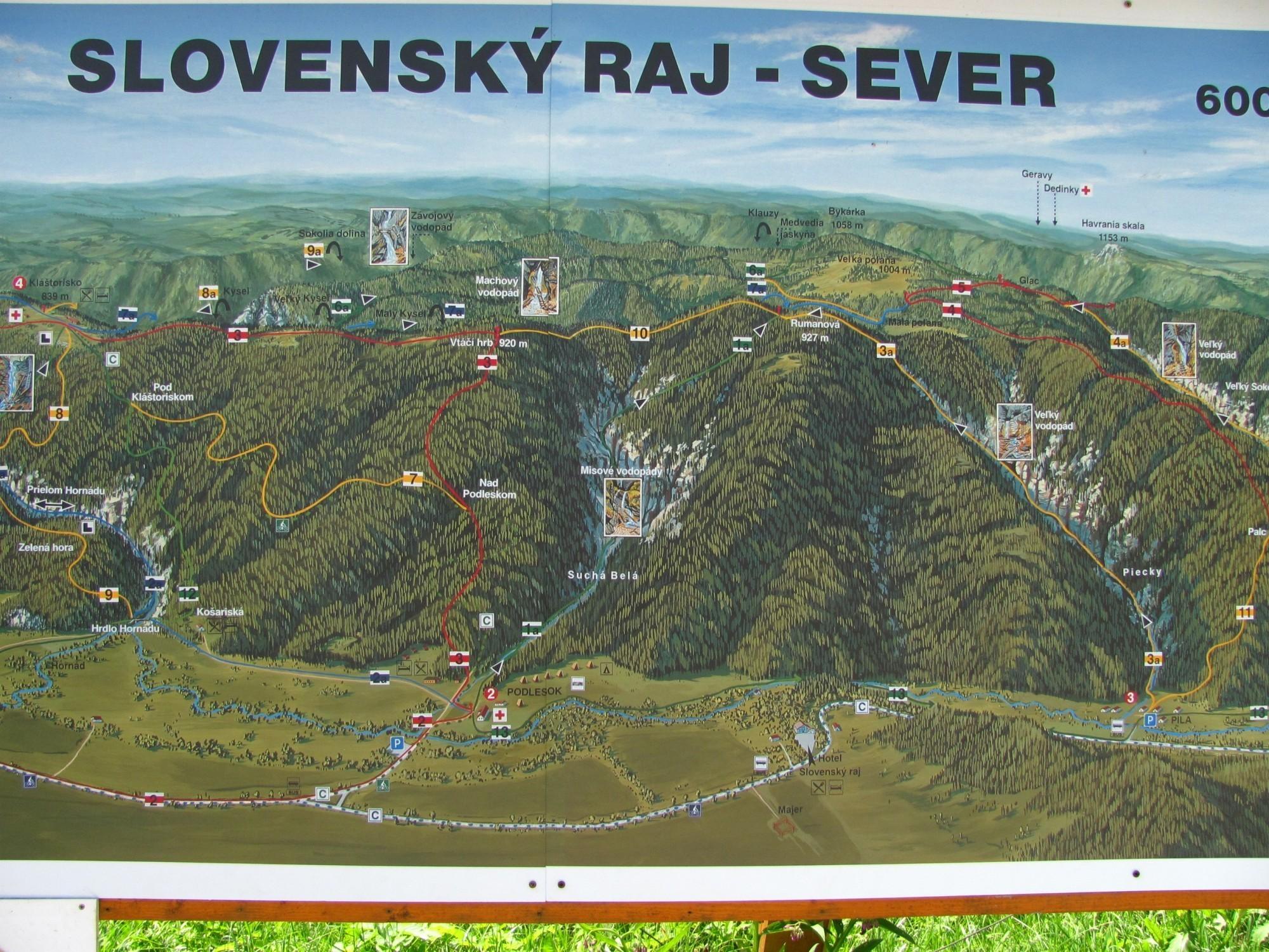 Slovensky Raj Prirodni Pamatka Turistika Cz