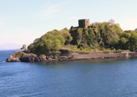 Dunollie Castle.