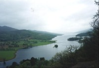 Queens View nad Loch Tummel